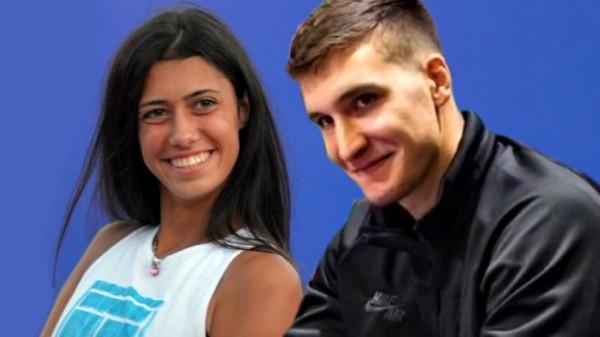 Prva zajednička slika Bogdana Bogdanovića i Olge Danilović: U paru bili na venčanju srpske teniserke