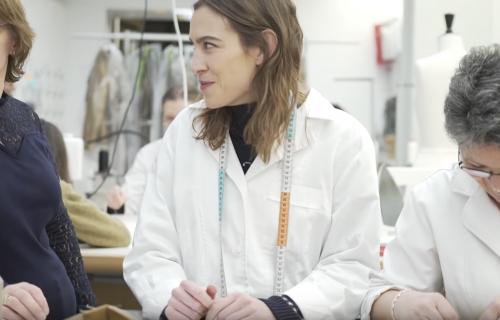 Aleksa Čang iza kulisa poslednjih priprema za reviju visoke mode Dior (FOTO+VIDEO)