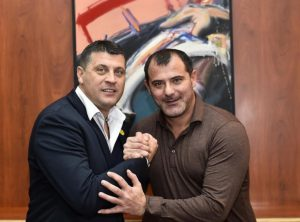 Dejan Stanković i Vladan Milojević