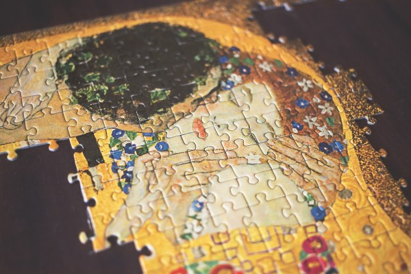 poljubac gustava klimta puzzle