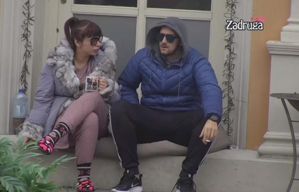 Zola na mukama od zore: Završio na tabletama, Miljana ga teši (VIDEO)
