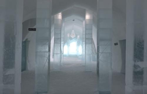 Da se smrzneš: Luksuzni hotel od leda (VIDEO)