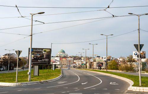 APELI i KAZNE urodili plodom: Beograđani u kućama od 17 sati, nema vozila na ulicama (FOTO+VIDEO)