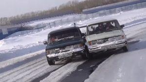 SAMO U RUSIJI: Ovakvo driftovanje još niste videli! (VIDEO)