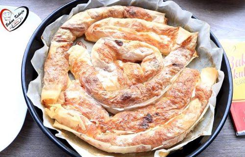 ULEPŠAJTE SEBI VIKEND: Isprobajte recept za najukusniju bakinu pica-pitu (VIDEO)