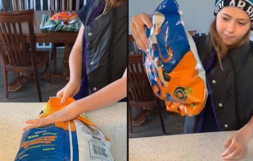 Mučite se da zatvorite načetu kesicu čipsa? Ova žena ima EFIKASNU tehniku (VIDEO)
