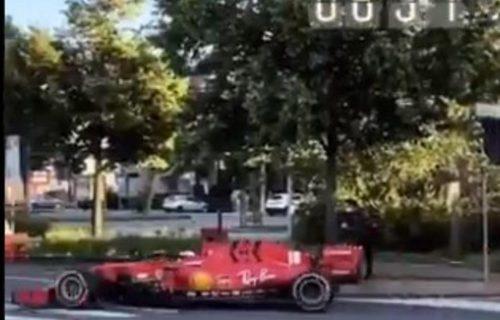 Italijani zanemeli: Lekler najnovijom formulom ULETEO U GRAD i provozao se ulicama! (VIDEO)