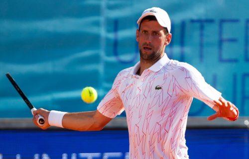 Novak u FINALU Adria Toura: Nije uspeo u Beogradu, ali jeste u Zadru