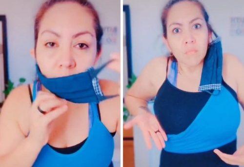 Mnogi Srbi nose masku POGREŠNO: Ova žena je to dokazala koristeći BRUSHALTER (VIDEO)