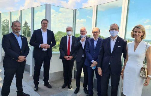 Vučić sa ambasadorima Kvinte: Podrška obnovi dijaloga