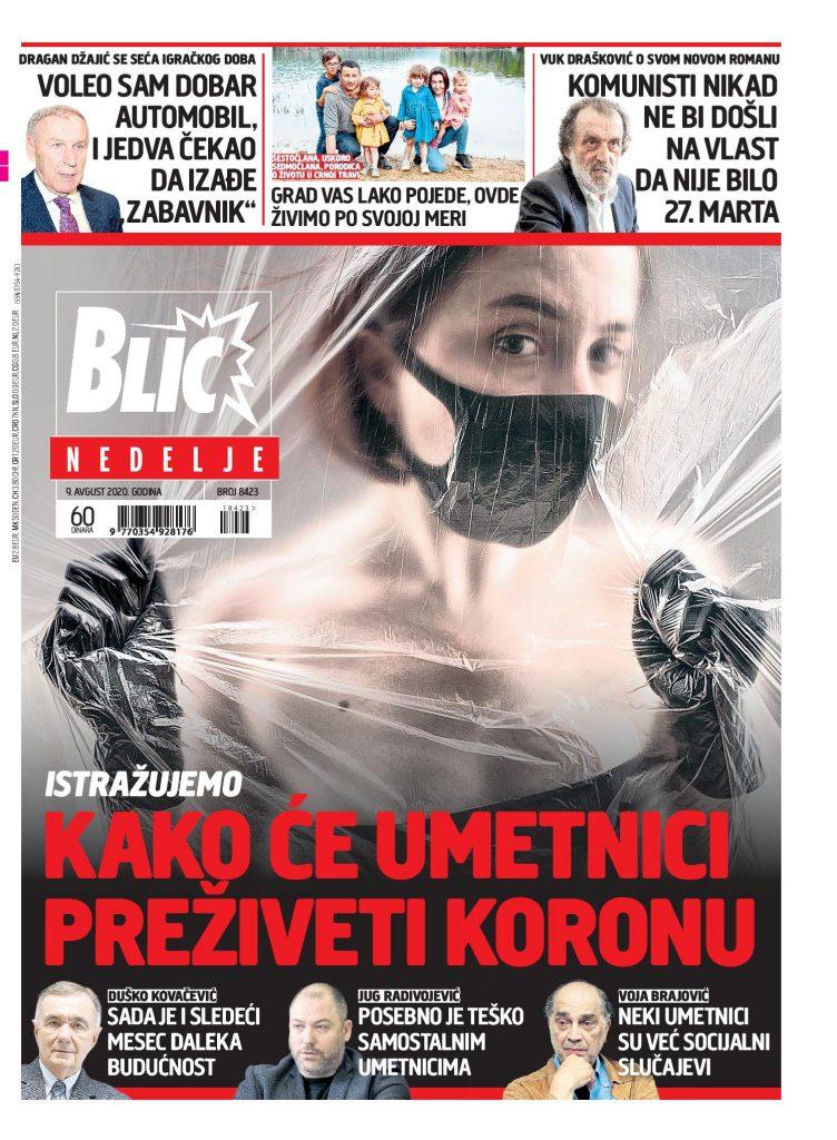 Pogledajte NASLOVNE STRANE sutrašnjih novina: Korona oružje za biološki rat, ko će u vladu… (FOTO)
