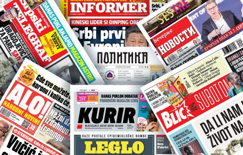 Pogledajte NASLOVNE STRANE novina za 4. septembar: Kobna tačka 10, Amerika traži priznanje Kosova… (FOTO)