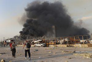 Stravičan bilans eksplozije u Bejrutu: Poginulo 25, povređeno više od 2.500 ljudi (FOTO+VIDEO)
