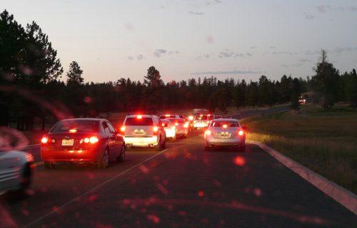 Veliki zastoj na auto-putu: Jedna traka ZATVORENA, formirala se kolona vozila