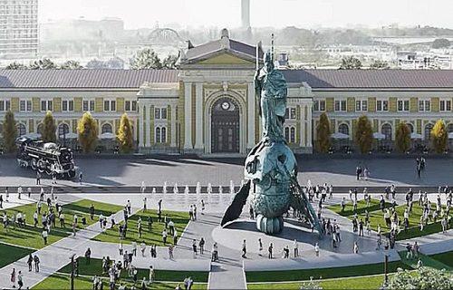 Montiranje spomenika Stefanu Nemanji počinje 15. avgusta