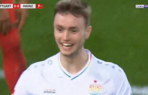 Srbin iz Beča u duginim bojama doneo pobedu Štutgartu: Trese mreže kao Nikola Žigić! (VIDEO)